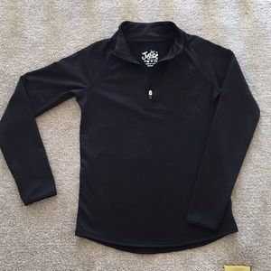 Girls Black Long Sleeve